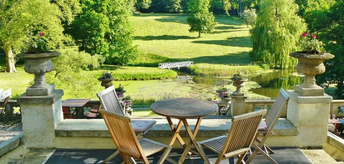 De simples plots pour une terrasse
