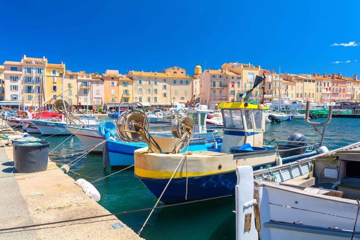 Saint-Tropez pour un achat immobilier de luxe