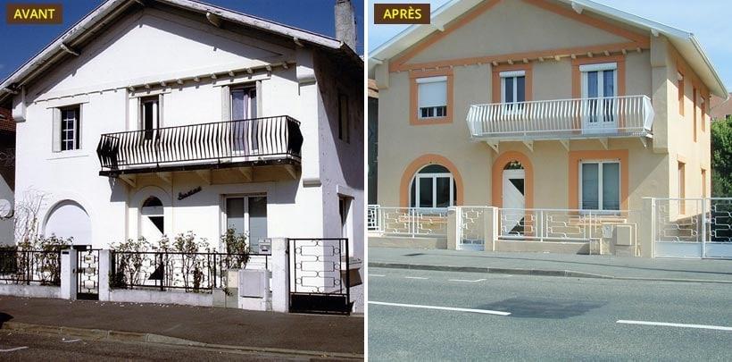 combien coute de refaire une facade maison ventana blog. Black Bedroom Furniture Sets. Home Design Ideas