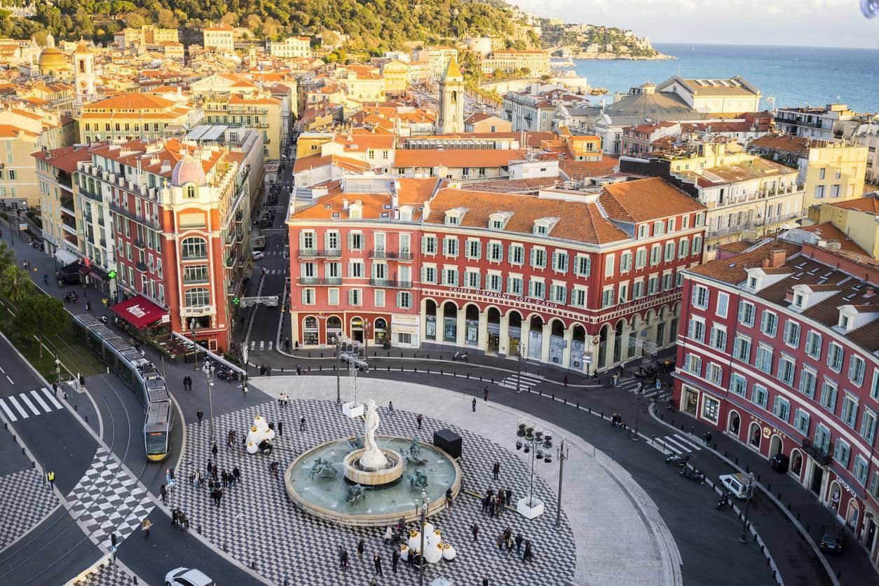 Côte d'Azur, Nice, immobilier